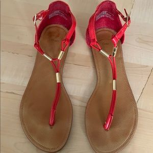 GAP Shoes - Red sandals